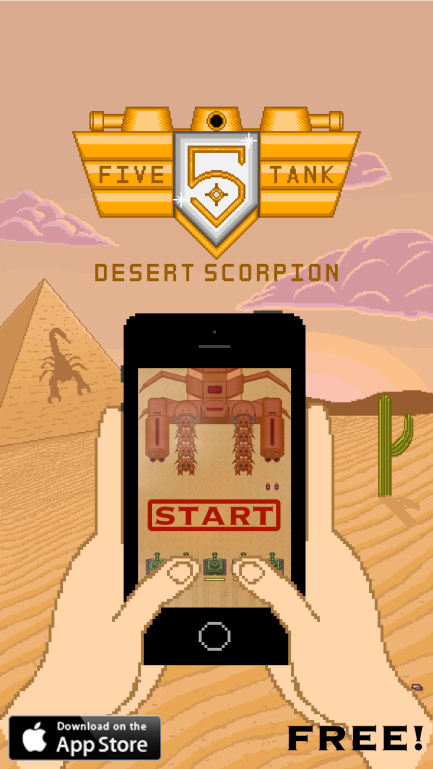 Five Tank : Desert Scorpion