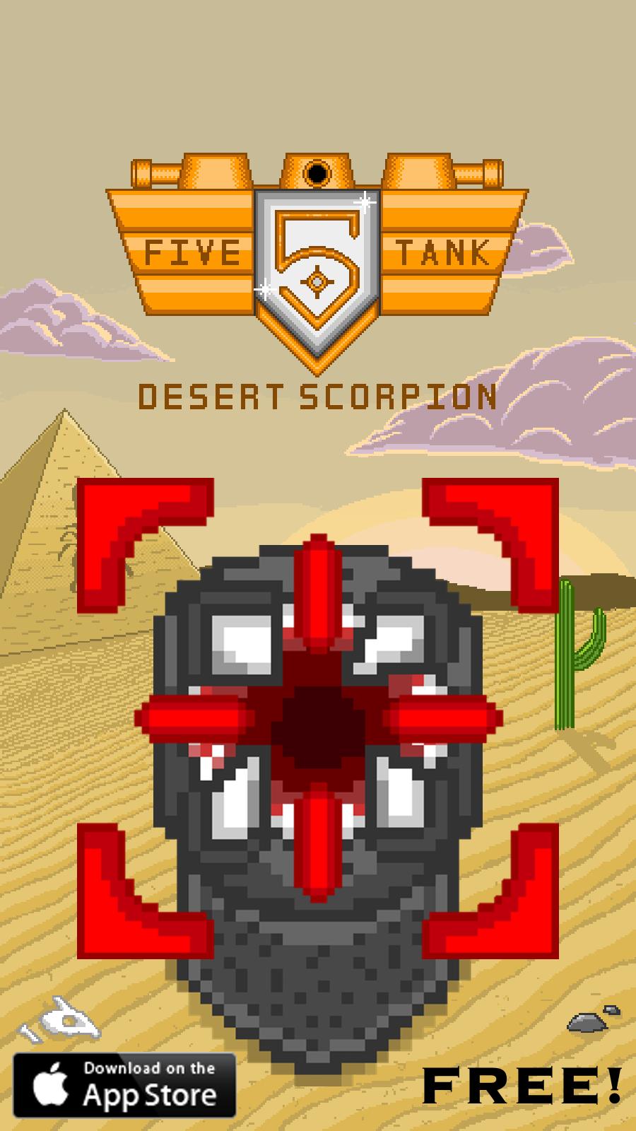 Five Tank : Desert Scorpion [Ad2]